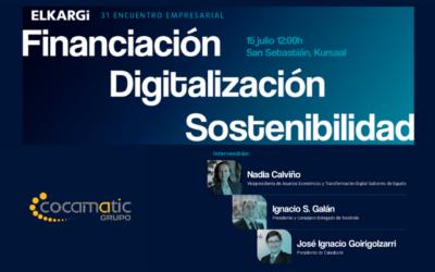 Grupo Cocamatic en el 31 Encuentro Empresarial ELKARGI