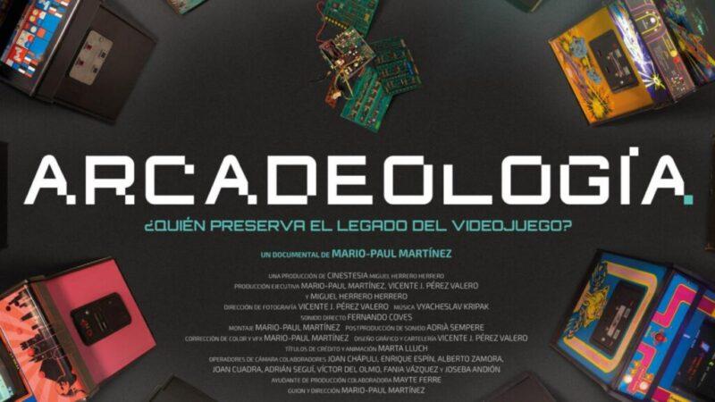 Arcadeología, el primer documental sobre el Videojuego